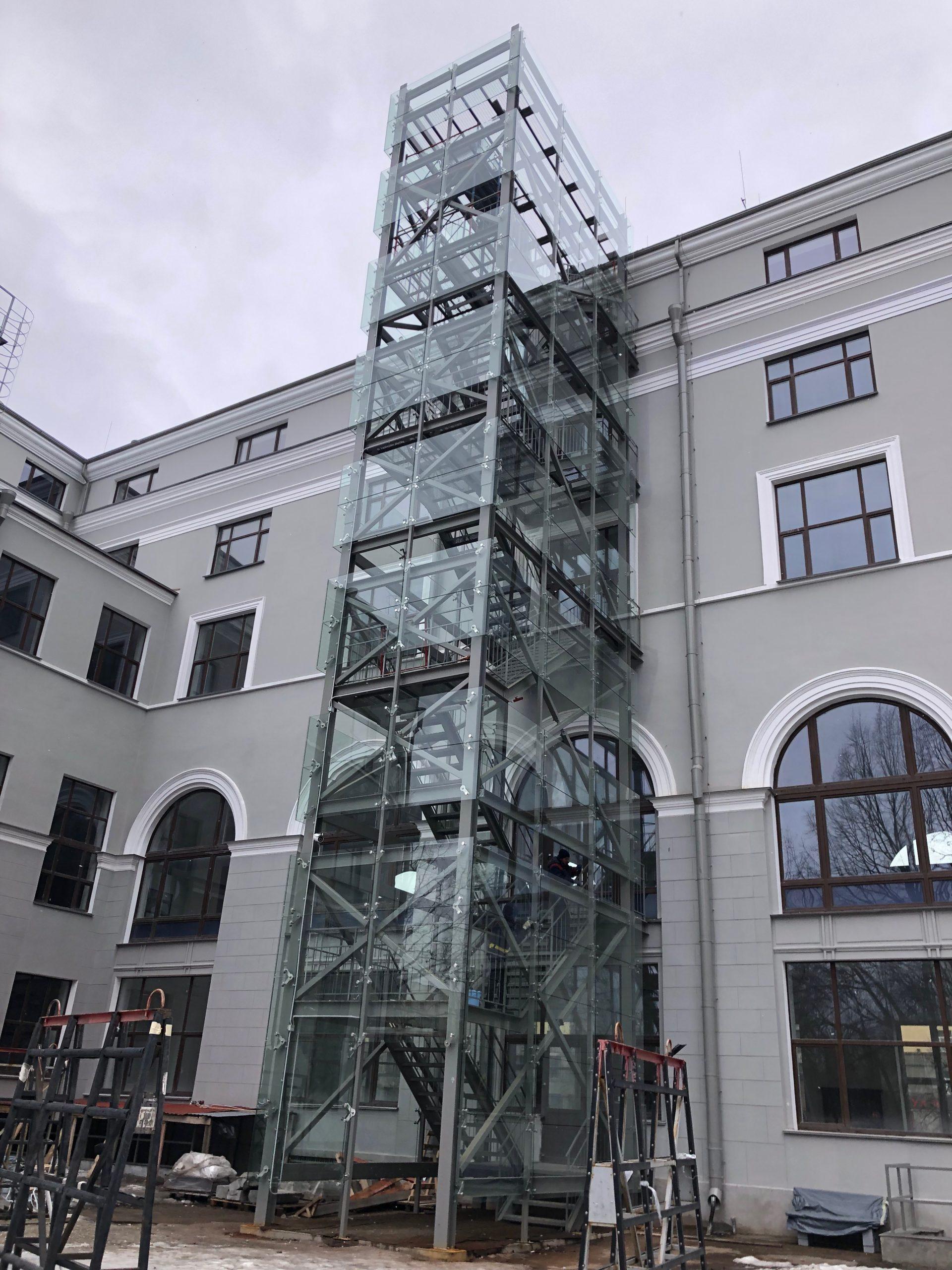 Реконструкция и реставрация основного здания ОАО «Пушной дом»»