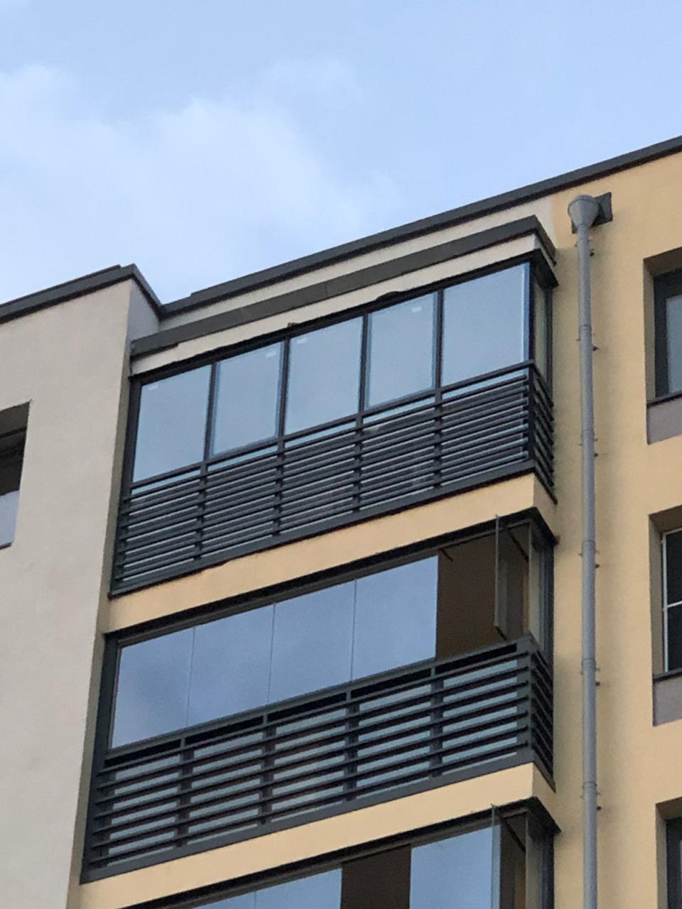 Остекление фасада